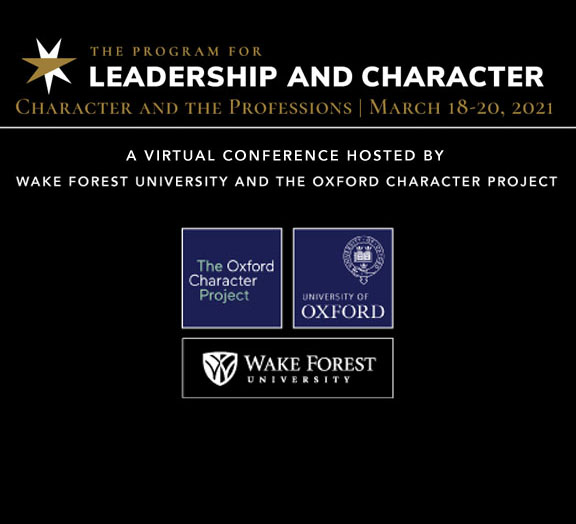 Leadership & Character Conference: March 18-20